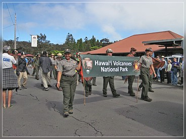 Independence Day, Parade in Volcano, Big Island