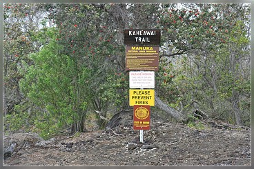 Kahaewai Trail, Big Island